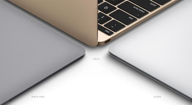 MacBook ra mắt với 3 phiên bản màu sắc khác nhau