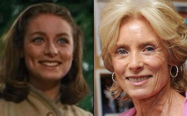 Nữ diễn viên Charmian Carr - người thể hiện vai Liesl von Trapp. Năm nay Carr đã 72 tuổi.