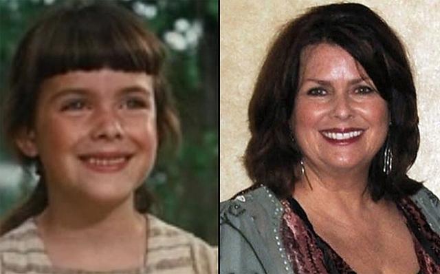 Diễn viên Debbie Turner - người thể hiện vai Marta - bây giờ đang ở tuổi 58.