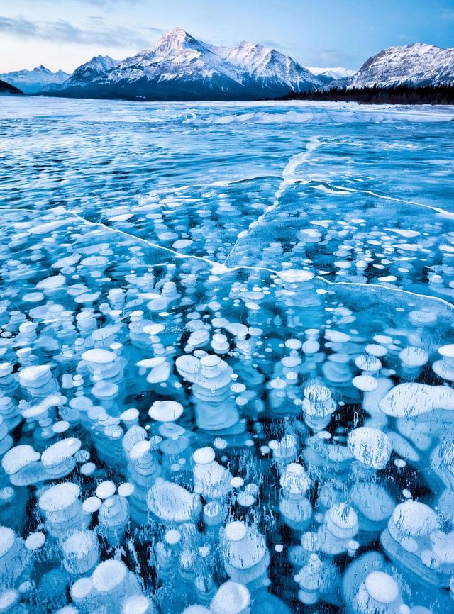 17. Hồ Abraham ở Canada