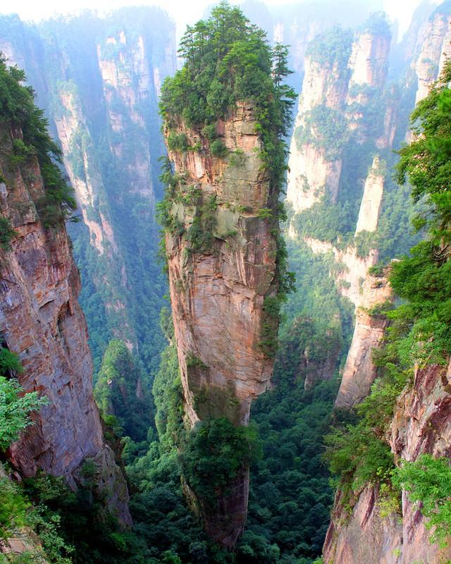 Núi Tianzi ở Trung Quốc