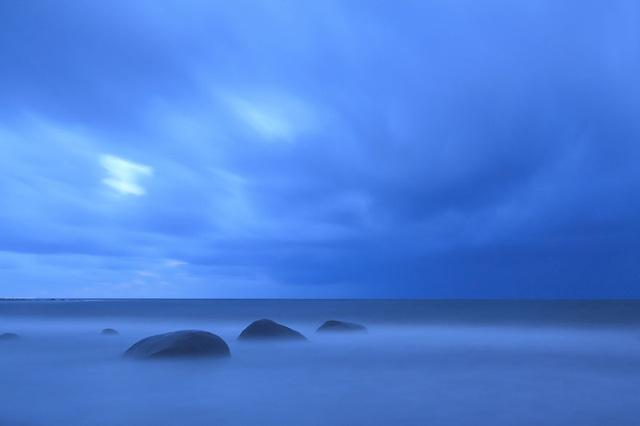 Bờ biển đẹp huyền ảo ở Jaeren.