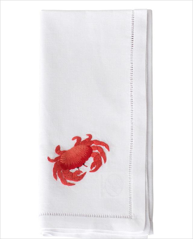 My Island Home cũng cho ra mắt mẫu khăn ăn mới có tên gọi Red Sea Life, mang hình ảnh con cua.