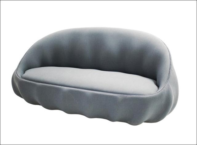 Mẫu sofa mới hình vỏ trai do Markus Johansson thiết kế.
