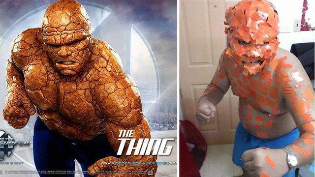 Người đá Thing trong Bộ tứ siêu đẳng (Fantastic Four)