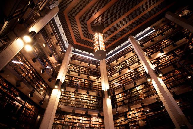 Thư viện Thomas Fisher nằm ở Đại học Toronto (Canada) là nơi có nhiều sách quý hiếm, cổ xưa. Bên cạnh đó, nơi này còn đẹp với không gian rộng lớn, mang tông màu trầm ấm.