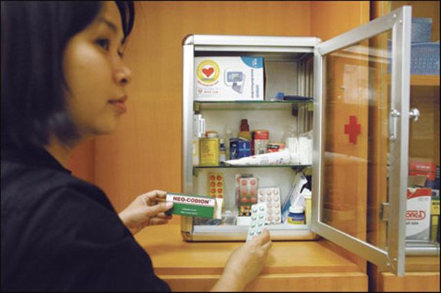 Mỗi gia đình nên chuẩn bị một số loại thuốc cần thiết dự phòng cho dịp Tết. (Ảnh: healthplus)