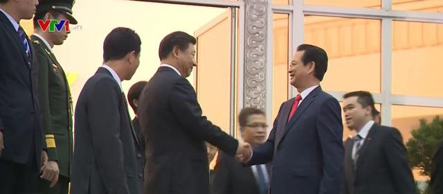 Thủ tướng Nguyễn Tấn Dũng hội kiến với Tổng Bí thư, Chủ tịch Trung Quốc Tập Cận Bình.