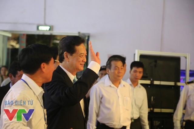Thủ tướng gửi lời chào tới các cán bộ, phóng viên, biên tập viên của Đài THVN