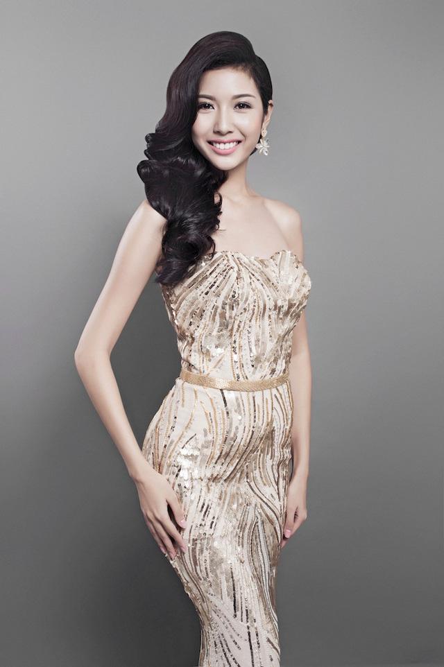 Thúy Vân - Á khôi 1 của Hoa khôi áo dài Việt Nam mùa đầu tiên đã giành ngôi vị Á hậu 3 tại cuộc thi Hoa hậu quốc tế 2015.