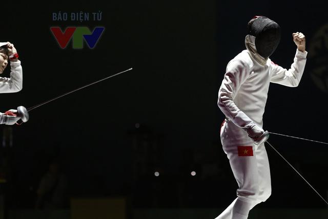 Trái ngược với sự nóng vội của đối thủ, Nguyễn Tiến Nhật vô cùng tự tin.