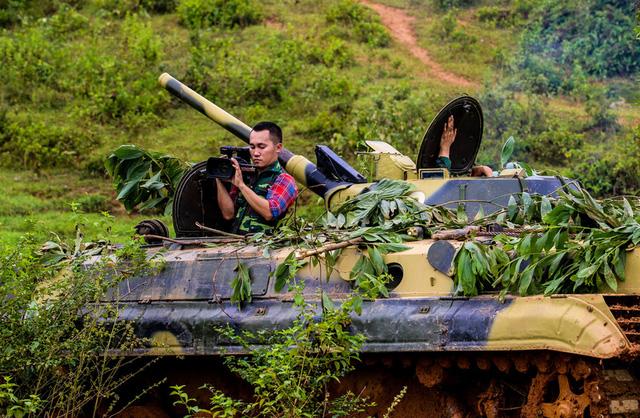 Tác phẩm Đồng hành cùng người lính của tác giả Đoàn Ngọc Anh, Kênh truyền hình Quốc Phòng Việt Nam