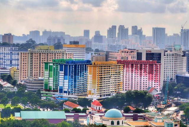 Một khu chung cư nổi bật ở Singapore