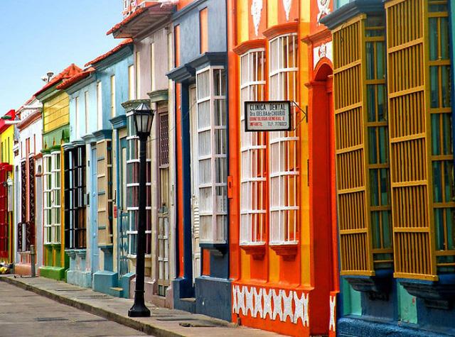 Dãy nhà tại Maracaibo (Venezuela)