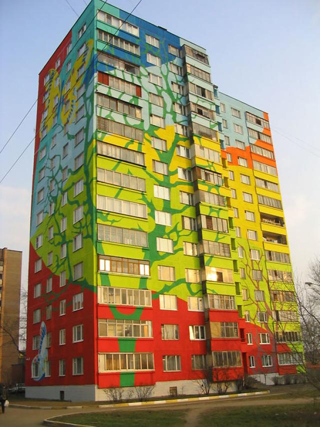 Nhà cao tầng ở Nga