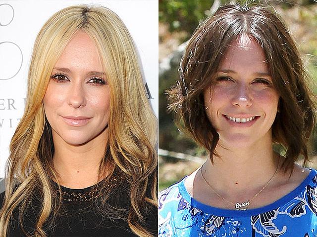 Sau khi trở lại với mái tóc dài màu vàng vào dịp sinh nhật con gái, Jennifer Love Hewitt lại biến mình trở nên năng động hơn với kiểu đầu bob nhuộm nâu.
