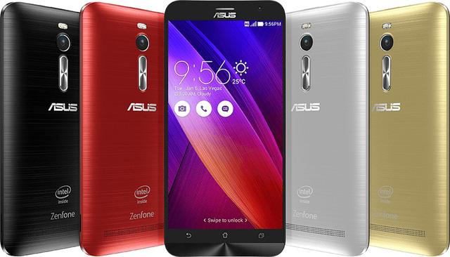 ASUS ZenFone 2 sở hữu thiết kế & giao diện ZenUI hoàn toàn mới