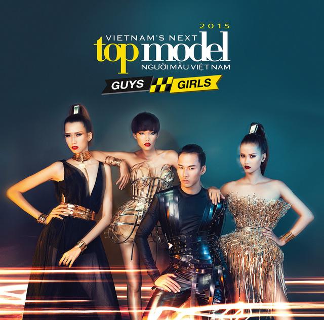 Top 4 Vietnams Next Top Model 2015 chỉ còn một cơ hội thể hiện mình để giành ngôi quán quân