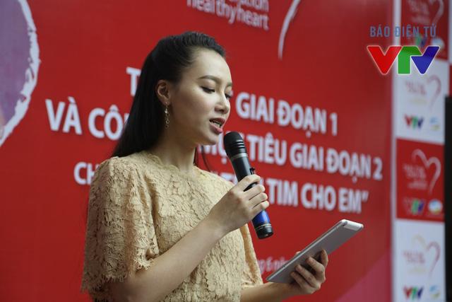 MC Minh Hà sẽ đồng hành cùng chương trình Trái tim cho em trong giai đoạn 2 từ năm 2015 đến 2020.