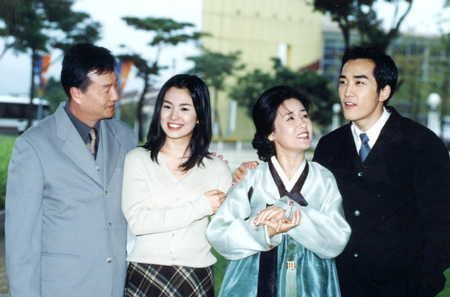 Trái tim mùa thu là bộ phim lãng mạn chiếu vào năm 2000 tại Hàn Quốc. Bộ phim đã mang đến thành công cho Won Bin, Song Seung Hun và Song Hye Kyo.