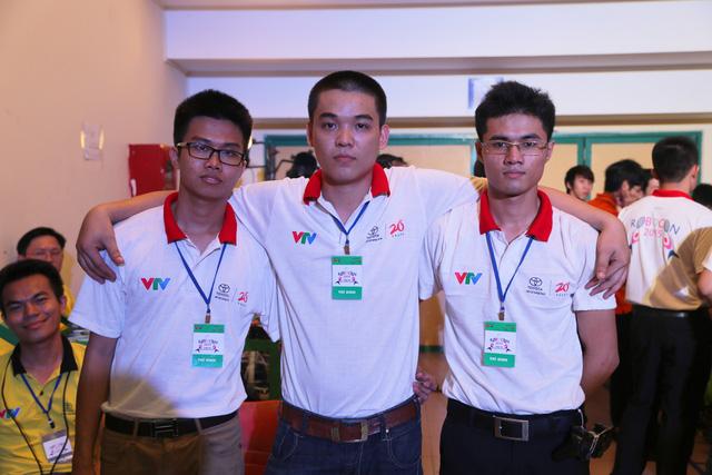 Đội tuyển SVI-01 đến từ Đại học Trần Đại Nghĩa