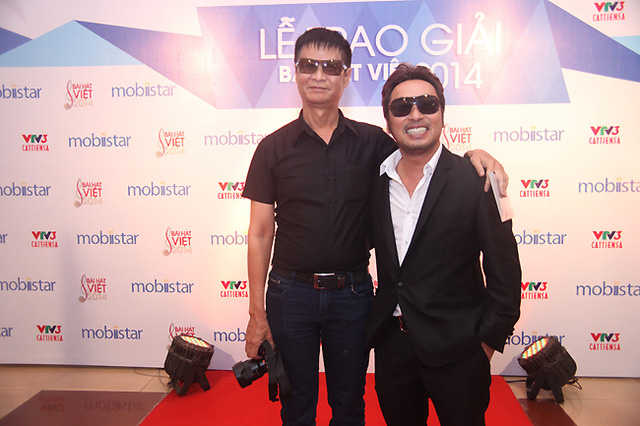 Đạo diễn Lê Hoàng và đạo diễn Nguyễn Quang Dũng.
