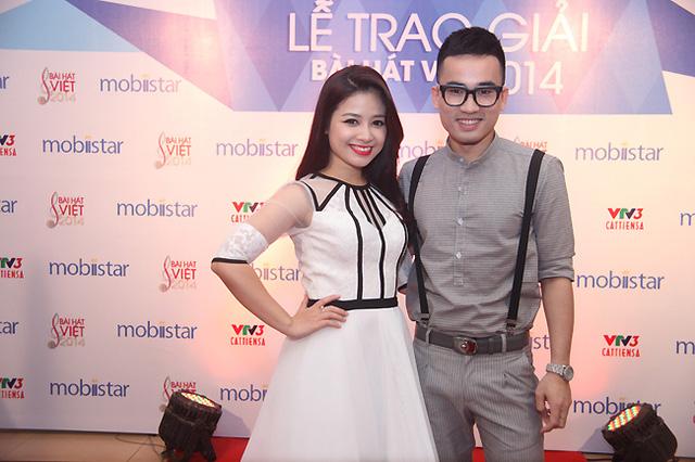 Dương Hoàng Yến và NTK Hoàng Duy. Cả hai là những gương mặt được chú ý của Cặp đôi hoàn hảo 2014.