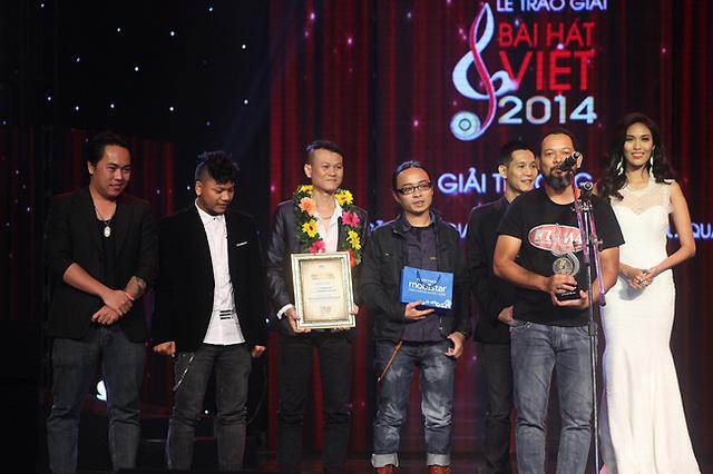 Giải thưởng Nhạc sĩ Hòa âm phối khí hiệu quả đã được trao cho ban nhạc Rock Hạc San.