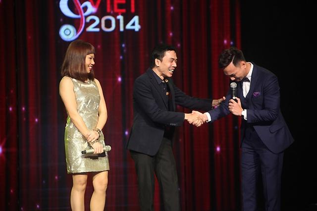Cô cùng nhạc sĩ Đỗ Bảo cũng đám nhận vai trò trao giải tại hạng mục Giải triển vọng dành cho tác giả.