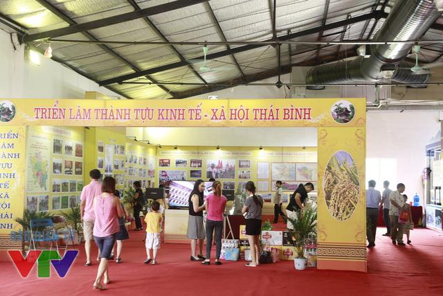 Gian hàng của tỉnh Thái Bình