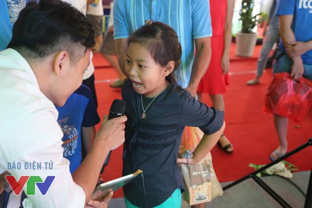 Các bạn nhỏ cũng rất nhiệt tình tham gia các trò chơi do VTV tổ chức