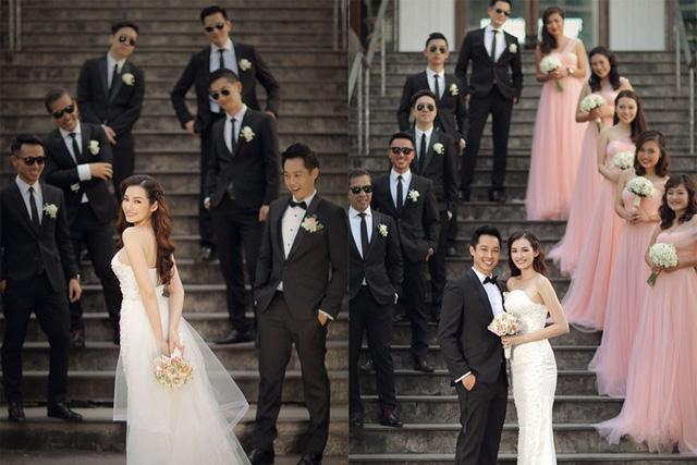 Ekip thực hiện bộ ảnh gồm: photo Tee Le, makeup Phước Lợi - Gia Trí, stylist Chung Thanh Phong, costume Chung Thanh Phong Bridal