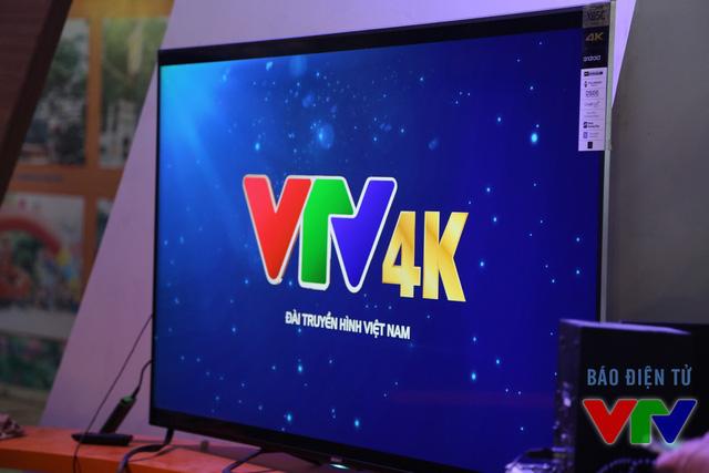 gGan hàng VTV tại triển lãm cũng sẽ tổ chức hoạt động quảng bá công nghệ 4K và trình chiếu videoclip chất lượng 4K về Đài THVN