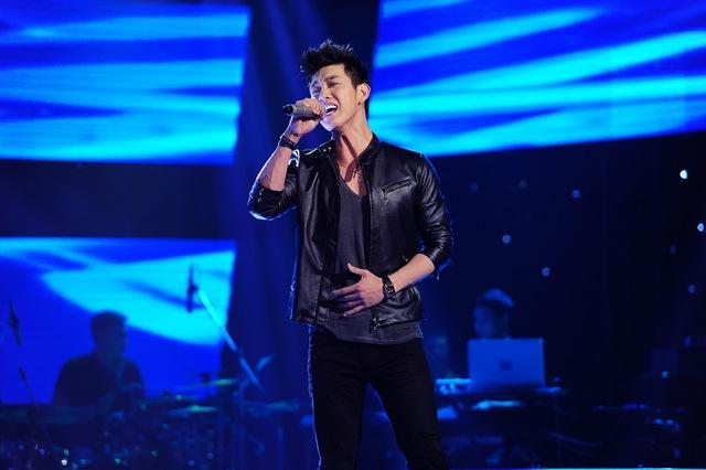 Gây bất ngờ nhất ở vòng Giấu mặt chính là ca sỹ Song Luân, anh cũng tham gia chương trình này với mong muốn được mọi người biết đến nhiều hơn