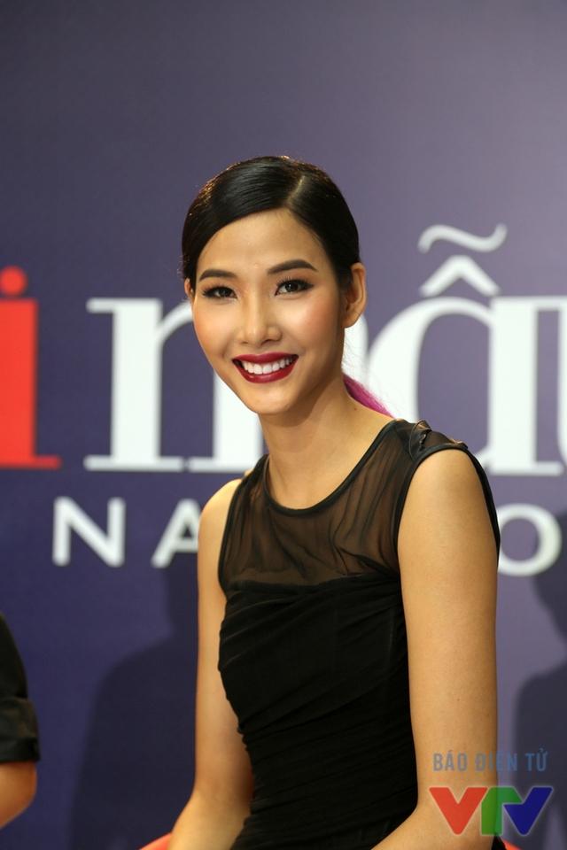 Người mẫu trẻ tỏ ra phấn khích khi được trở lại Vietnams Next Top Model trong vai trò giám khảo của cuộc thi.