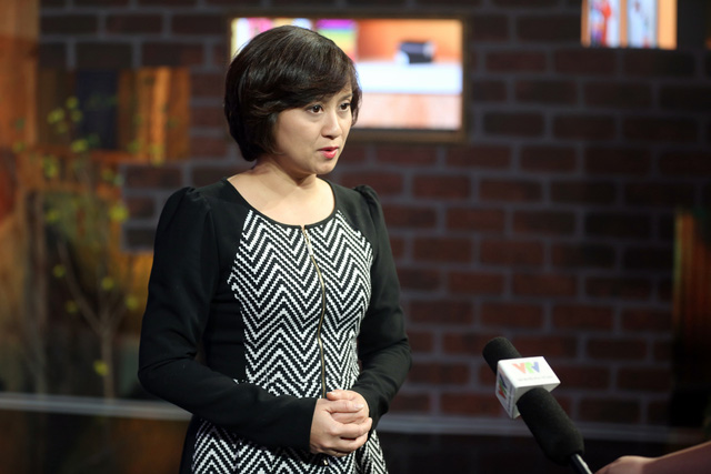 Nhà báo Thu Hằng
