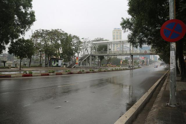Hà Nội được đón những cơn mưa Xuân vào sáng mùng 1 Tết