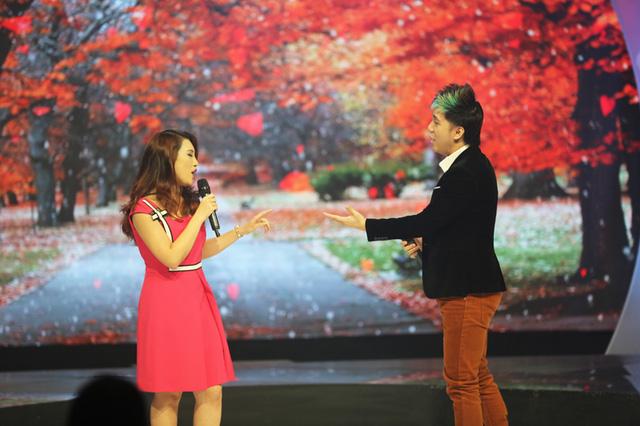 Dù chưa từng đứng trên sân khấu lớn nào nhưng Giang tỏ ra khá tự tin.