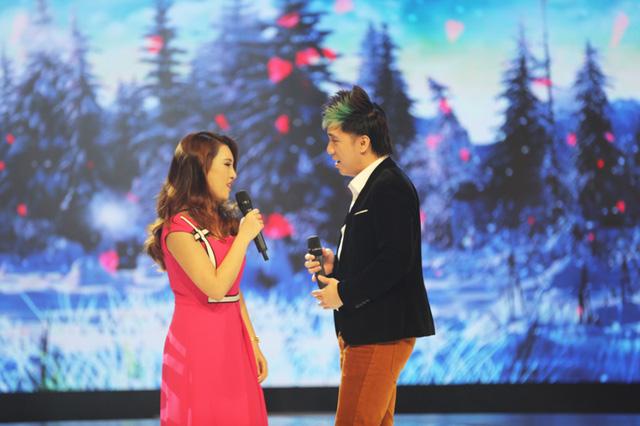 Hương Giang biểu diễn khá ăn ý với Minh Vương.