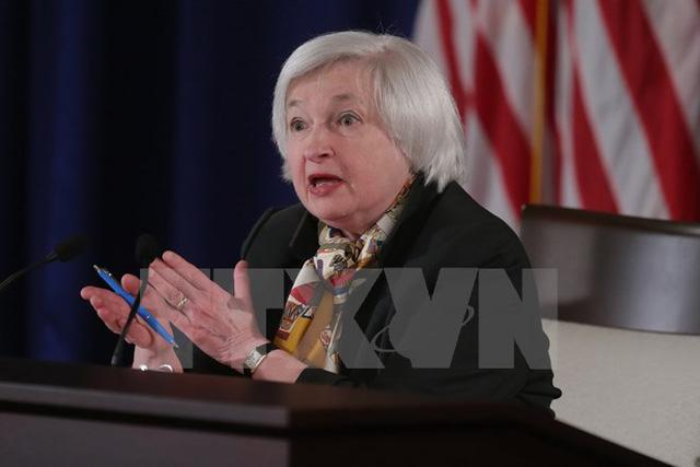 Chủ tịch FED Janet Yellen. (Ảnh: AFP/TTXVN)