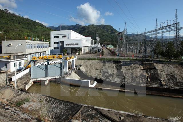 Nhà máy thủy điện Đa Nhim. (Ảnh: Ngọc Hà/TTXVN)