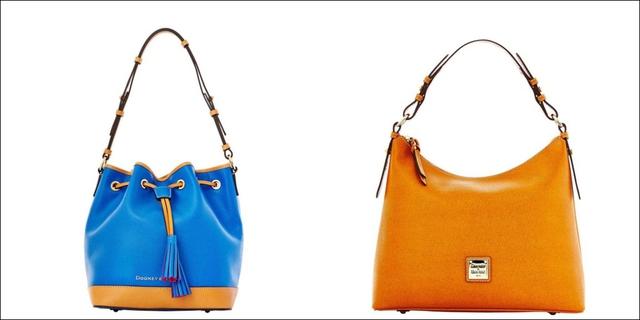 Với phong cách trẻ trung và mẫu mã đa dạng, từ những mẫu mang một màu đơn giản cho đến mẫu có màu sắc nổi bật, túi xách của Dooney And Bourke cũng có giá từ khoảng 300 USD trở lên.