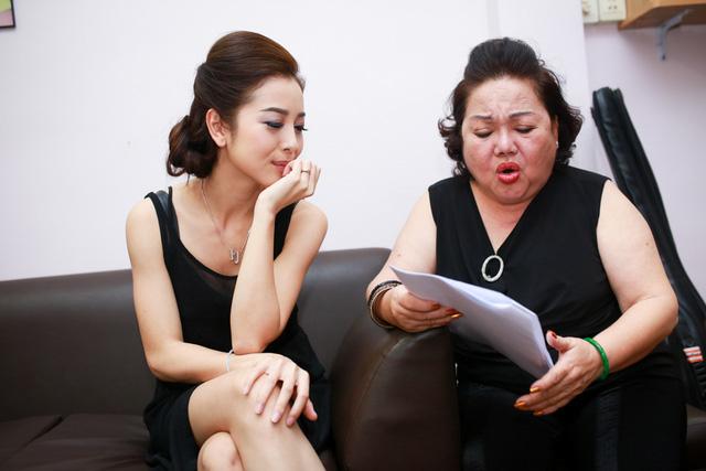 NSND Ngọc Giàu hướng dẫn Jennifer Phạm cách hát