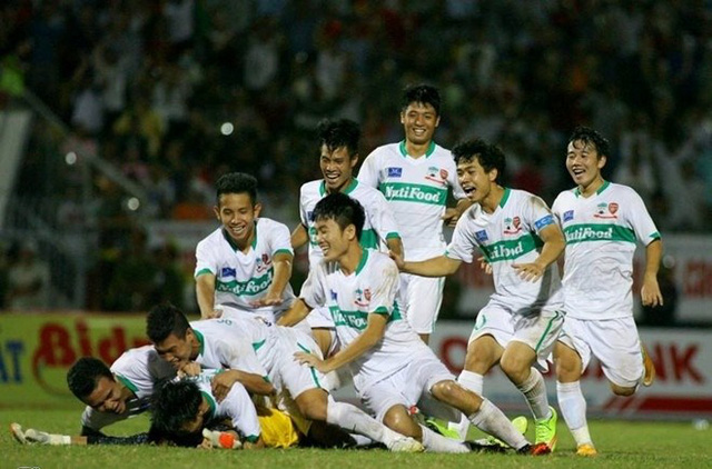 Các trận đấu của giải bóng đá U21 Quốc tế Báo Thanh Niên 2015 được THTT trên VTV6.