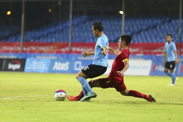 U23 Lào đã gây ra rất nhiều khó khăn cho U23 Việt Nam.