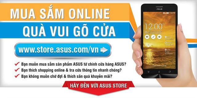 ASUS Store, khách hàng có thể mua các sản phẩm chính hãng của ASUS một cách dễ dàng