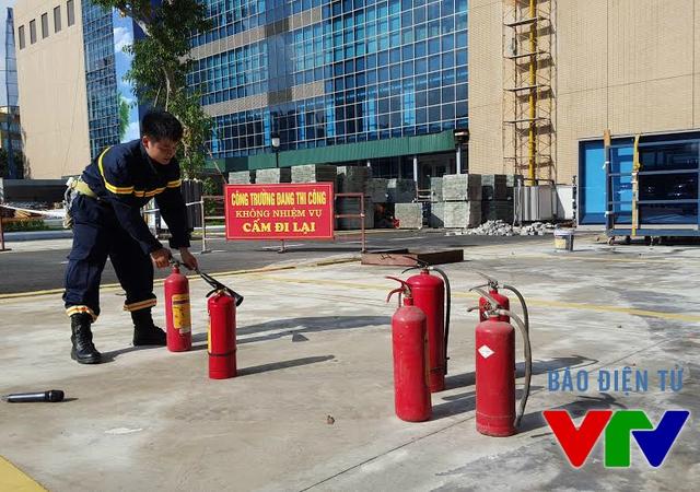 Công tác phòng cháy chữa cháy luôn được Lãnh đạo Đài Truyền hình Việt Nam quan tâm trong những năm qua (ảnh: Long Trần)