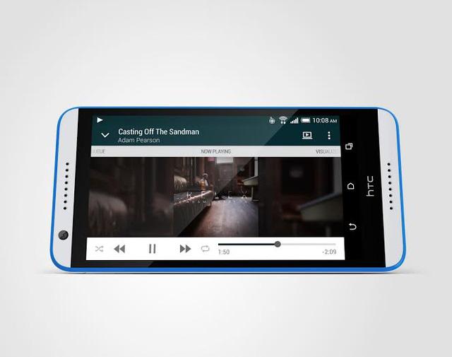 HTC Desire 820q được trang bị màn hình 5,5 inch độ phân giải fullHD 1080p