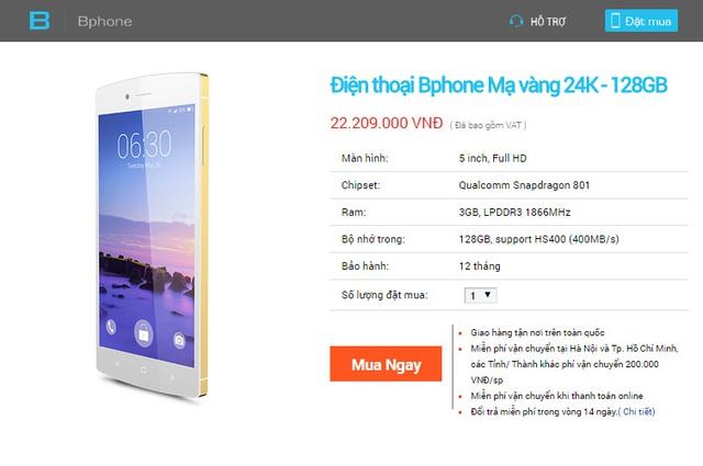 BPhone 128GB - Phiên bản Limited Edition