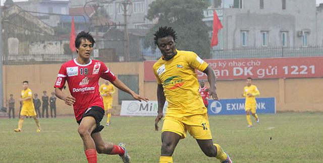 Thanh Hóa bất ngờ thất bại trước ĐTLA tại vòng đấu trước (Ảnh: http://thethao24.tv)